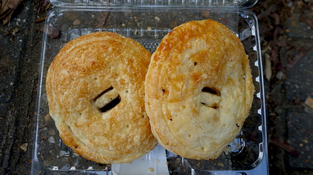 2 ASDA Eccles cakes