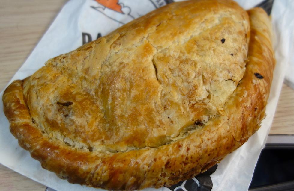 Authentic Cornish pasty