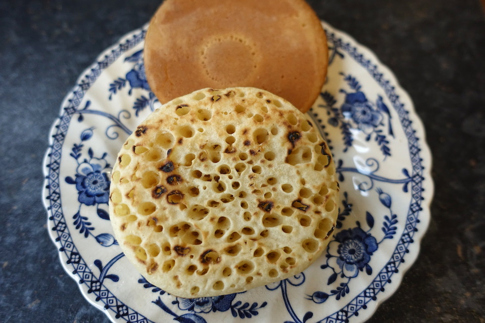 crumpets two sides
