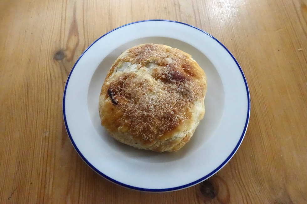 Clapham The old post office bakery eccles cake
